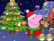 Online game Peppa Pig Christmas Tree Decoration