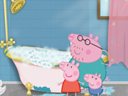Online game Peppa Pig cleaning day