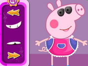 Online game Peppa Pig Crazy Dress Up