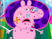 Peppa Pig Injured