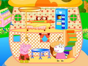 Peppa Pig Mushroom House Decor