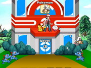 Online game Pokemon Attack Defense