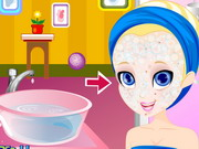 Online game Polly Pocket Facial Makeover