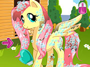 Online game Pony Makeover Hhair Salon