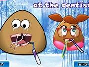 Pou And Pou Girl At The Dentist