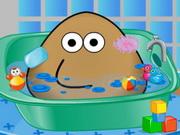 Online game POU kupanje i sredjivanje