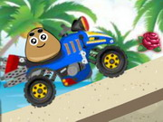Online game Pou Beach Ride