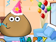 Pou Birthday Party(played:105)