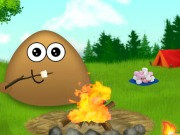 Online igrica Pou Camp Fire