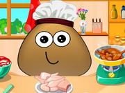Online game Pou Cooking Lesson