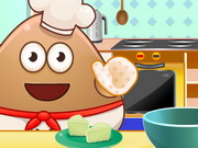 Online game Pou Cooking Raffaello