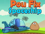 Online game Pou Fix Spaceship