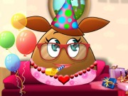 Online igrica Pou Girl Birthday Party