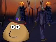 Online igrica Pou Halloween House