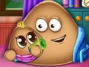 Online game Pou Has a Baby
