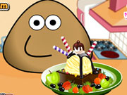 Online igrica Pou Ice Cream Decoration