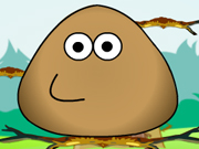 Online game Pou Jump Adventure