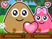 Online igrica Pou Lovely Kiss 2