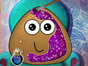 Online game Pou Makeover