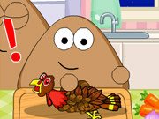 Online igrica Pou Thanksgiving Day Slacking