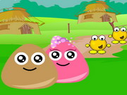 Online igrica Pou Village Adventure