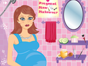 Online game Pregnant mom makeover