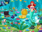 Online game Princess Ariel Underwater Cleaning