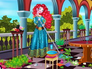 Princess Merida Palace Cleaning