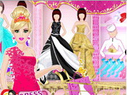 Online game Princess Shopping