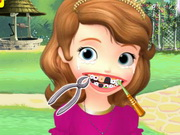 Online game Princess Sofia Dental Care