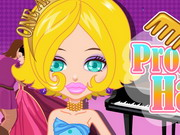 Online igrica Prom Party Haircuts free for kids