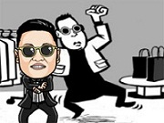 Online game Psy Gentleman Dance
