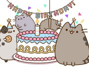 Online game Pusheen's Birthday Party