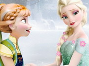 Online game Puzzle Frozen Fever