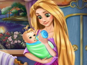 Rapunzel Baby Feeding