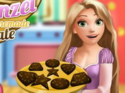 Online game Rapunzel Cooking Chocolate