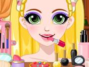Online igrica Rapunzel Glittery Makeup
