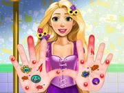 Online game Rapunzel Hand Treatment