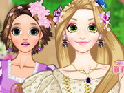 Online game Rapunzel Long Hair Or Short Hair