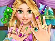 Online game Rapunzel Manicure