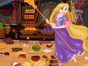 Online game Rapunzel Market Cleaning