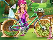 Aranyhaj biciklije