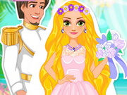Online game Rapunzel Summer Wedding