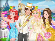 Online game Rapunzel Wedding Preparation