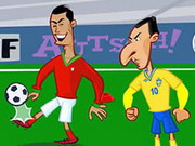 Ronaldo Vs Ibrahimovic