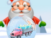 Play Santa's Toy Parking Mania Game