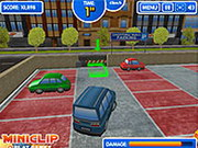 Online game Shopping Mall Parking