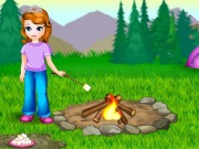 Online game Sofia Cooking Marshmallows