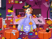 Online game Sofia Halloween House Cleaning