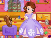 Sofia The First Room Cleaning